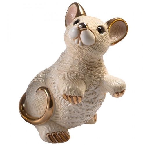 Статуэтка Крыса белая