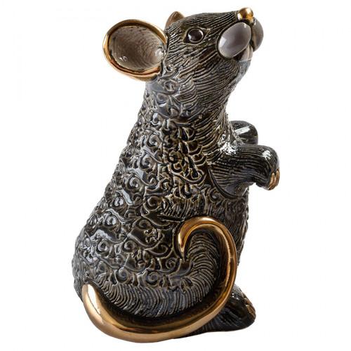Статуэтка Крыса черная
