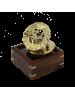 Морской компас в деревянном футляре с окошком NA-16029