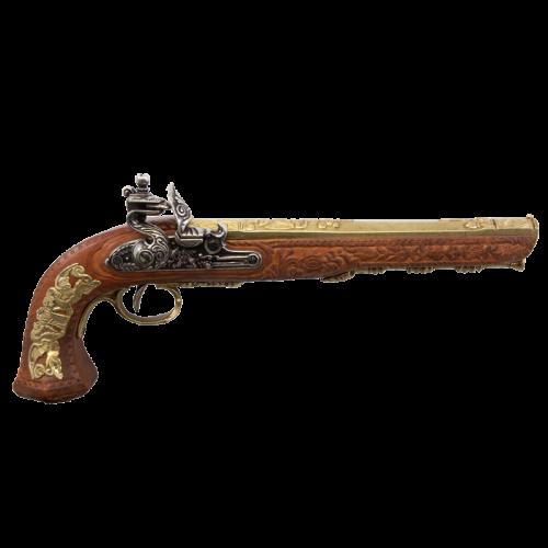 Макет дуэльного пистоля 1810 г. Франция Бутэ DE-1084-L