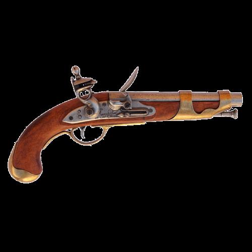 Макет пистоля кавалерийский Франция 1800 г DE-1011