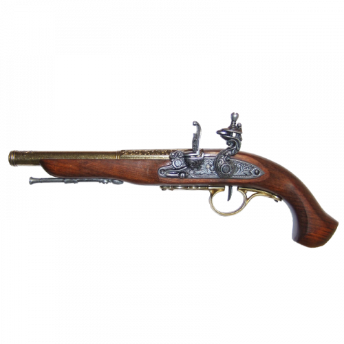 Макет пистоля под левую руку 18 в латунь DE-1129-L