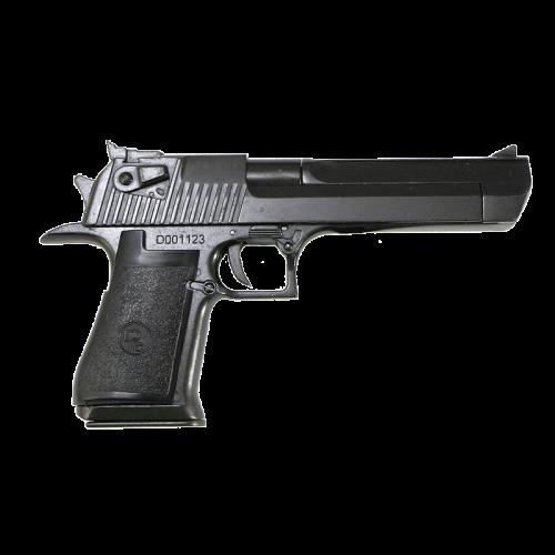 Макет пистолета Дезерт Игл 50 калибр черный DE-1123