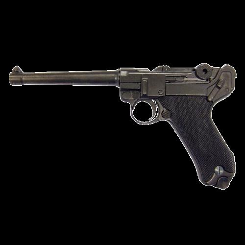 Макет пистолета Люгер Парабеллум длинный ствол DE-1144