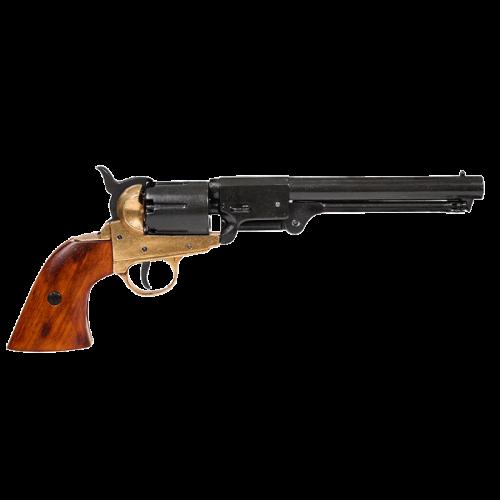 Макет револьвера Кольт 1851 г латунь DE-1083-L