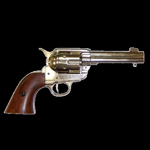 Макет револьвера Кольт 45 калибра никель DE-1186-NQ