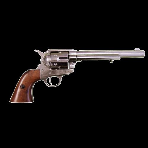 Макет револьвера Кольт 45 калибра никелерованный DE-1107-NQ