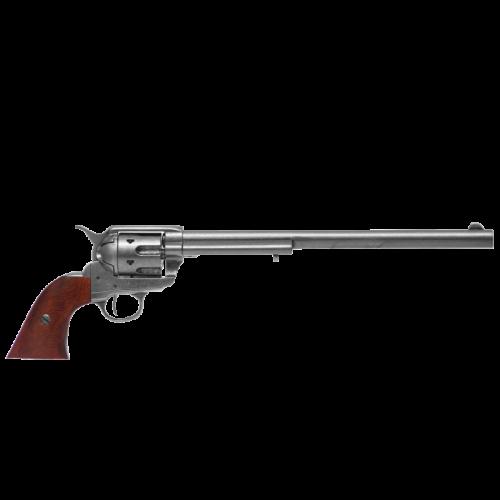 Макет револьвера Кольт Миротворец 45 калибра длинный ствол DE-1303
