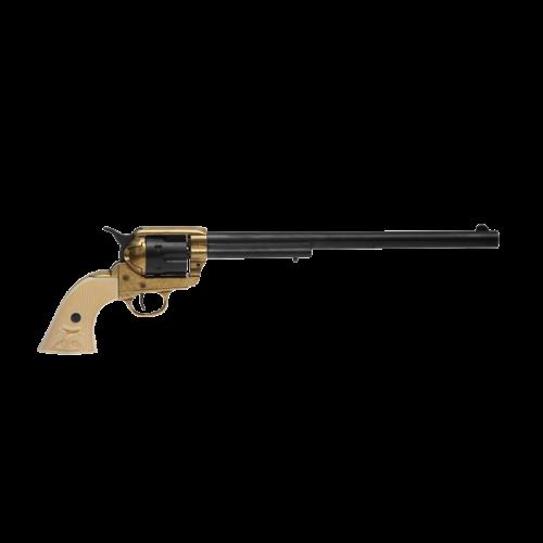 Макет револьвера Кольт Миротворец 45 калибра длинный ствол пластик DE-5303