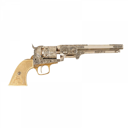 Макет револьвера Кольт морской DE-1040-B