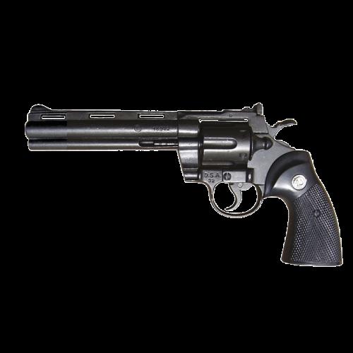 Макет револьвера Магнум 6-ти дюймовый черный DE-1050
