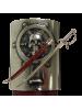 """Макет пиратской сабли Эдварда Тича """"Черная борода"""" красная DE-4196"""