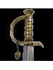 """Макет пиратской сабли тип ятаган Эдварда Тича """"Черная борода"""" DE-4197"""
