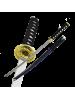 Макет самурайского меча катана синие ножны D-50044-KA-GLD