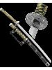Макет самурайского меча тачи ножны черные D-50041-BK-KA