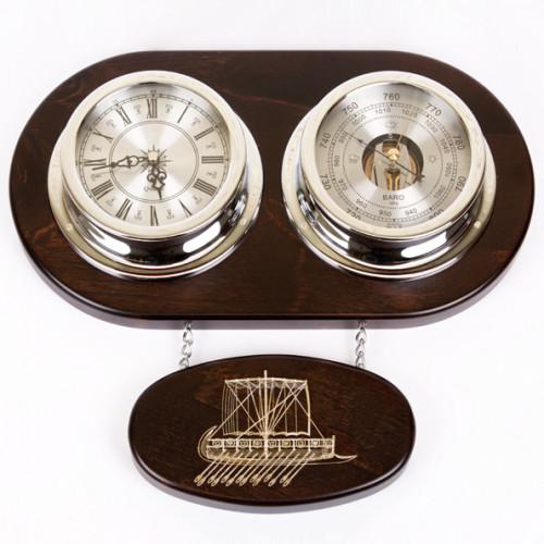 Часы-метеостанция М-39/1-S
