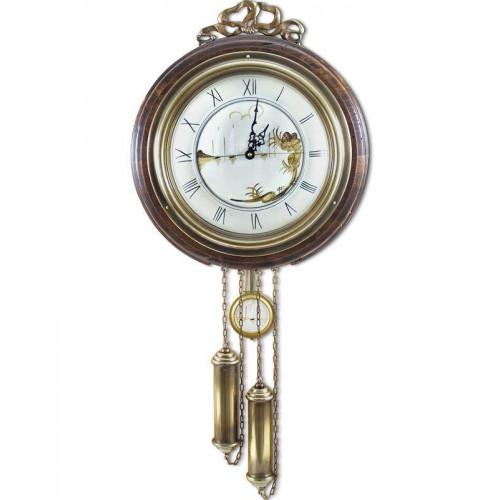 Часы настенные с гирями и маятником FC-3366-N