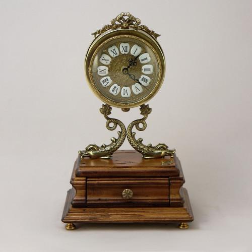 Часы настольные с ящичком FC-3719