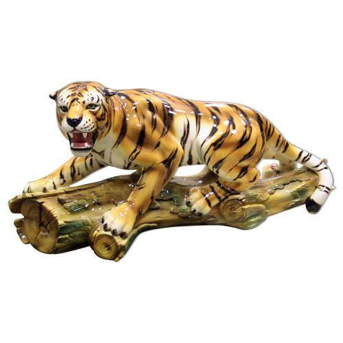 Фигура тигр крадущийся H=55 см CB-363-T