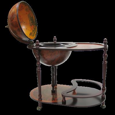 Глобус бар со столиком D=42 см