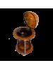 Напольный глобус бар D=33 см