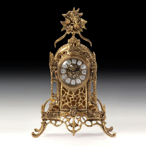 Каминные часы Соборные цветы