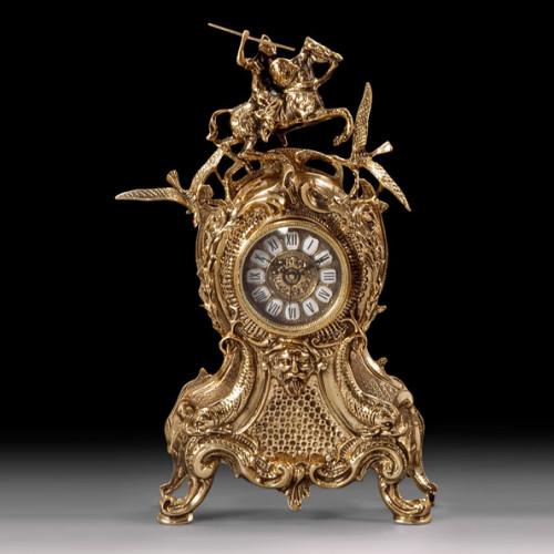 Каминные часы Всадник