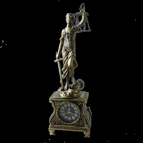Каминные часы Джустиса BP-27053-A