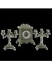 Каминный гарнитур AL82-108-A-ANT