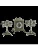 Каминный гарнитур AL82-108-B-ANT