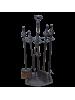 Набор для камина чугунный YM-PT-2001-A