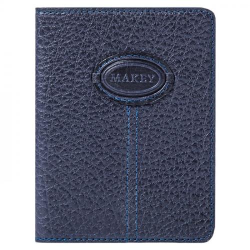 Обложка для паспорта Classic синий 009-08-55/4