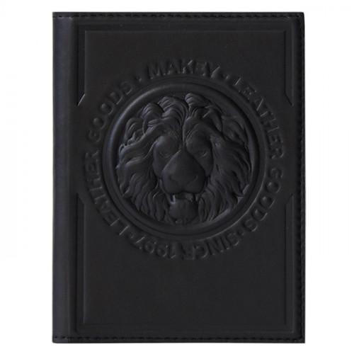 Обложка для паспорта Royal черный 009-08-51/1