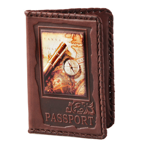 Обложка для паспорта Вокруг света 009-08-04