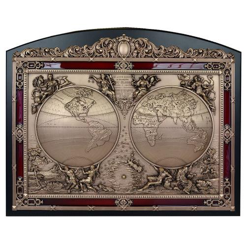 Настенное панно Карта мира 18-312