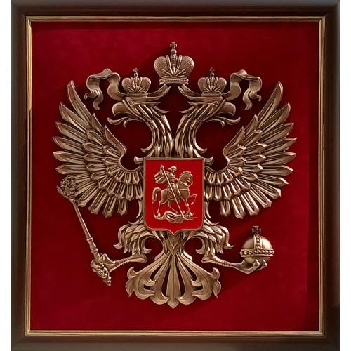 Картина Герб России большая 80х85 см 15-268