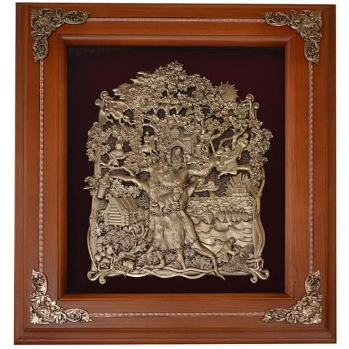Ключница деревянная Лукоморье 18-313