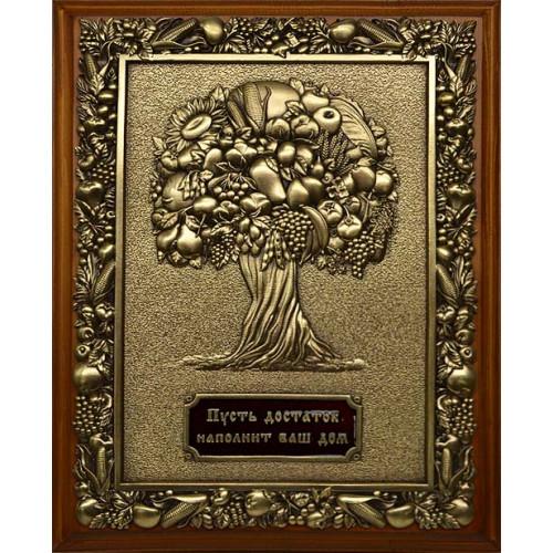 Ключница деревянная малая Дерево изобилия 14-225