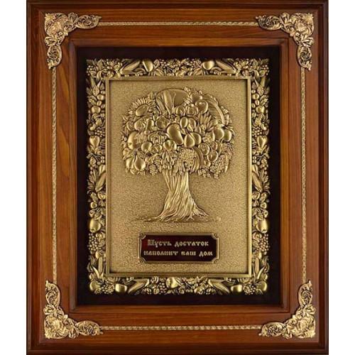 Ключница деревянная большая Дерево изобилия 14-139