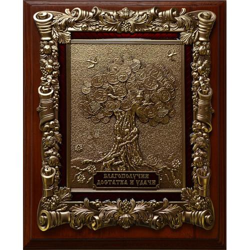Ключница деревянная малая Денежное дерево 15-267