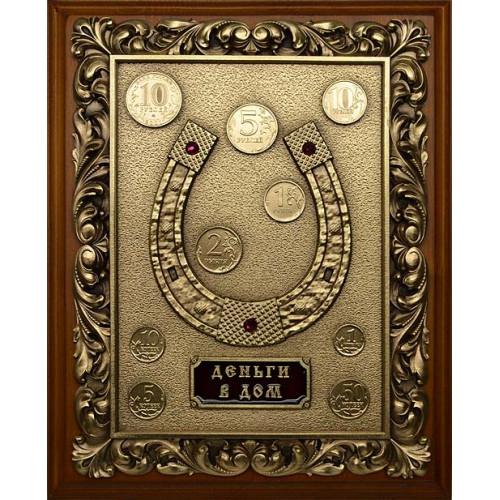 Ключница деревянная малая Подкова 14-228