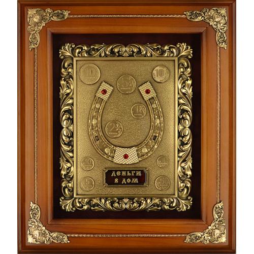 Ключница деревянная большая Подкова 14-138