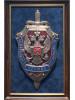 Панно настенное Эмблема ФСБ большое 11-046
