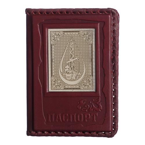 Обложка для паспорта Нефтянику-газовику 009-13-03А