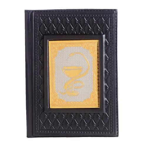 Обложка для паспорта Медик черн 009-14-14А