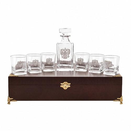 Набор бокалов для виски 6 шт. с графином арт. 10056552