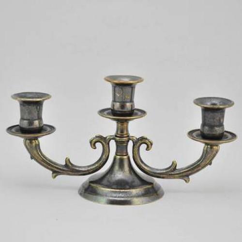 Подсвечник на 3 свечи AL80-337-ANT