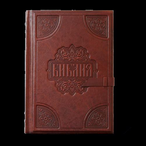 Библия большая, золотой срез 002 з