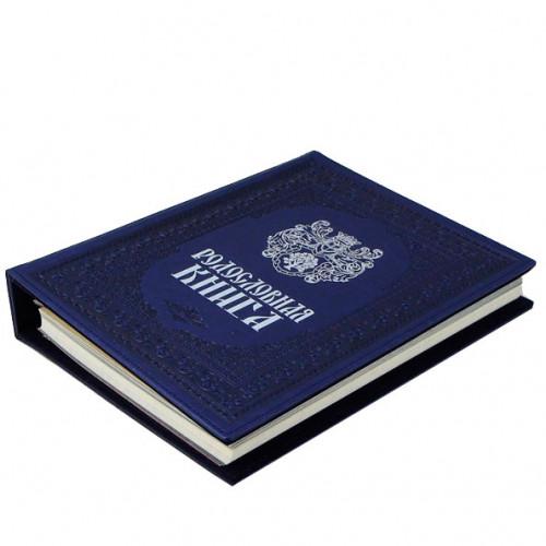 Родословная книга Художественная синяя РК 53-С