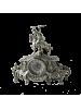 Каминные часы Коша, серебро BP-27017-S